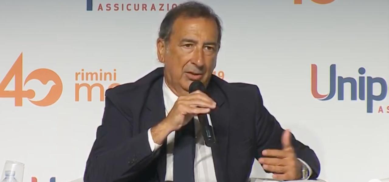 Beppe Sala al Meeting di Rimini