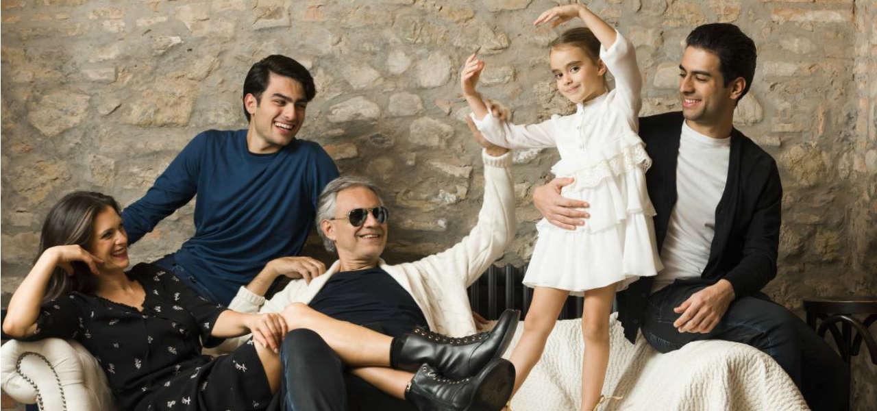 Figli Andrea Bocelli