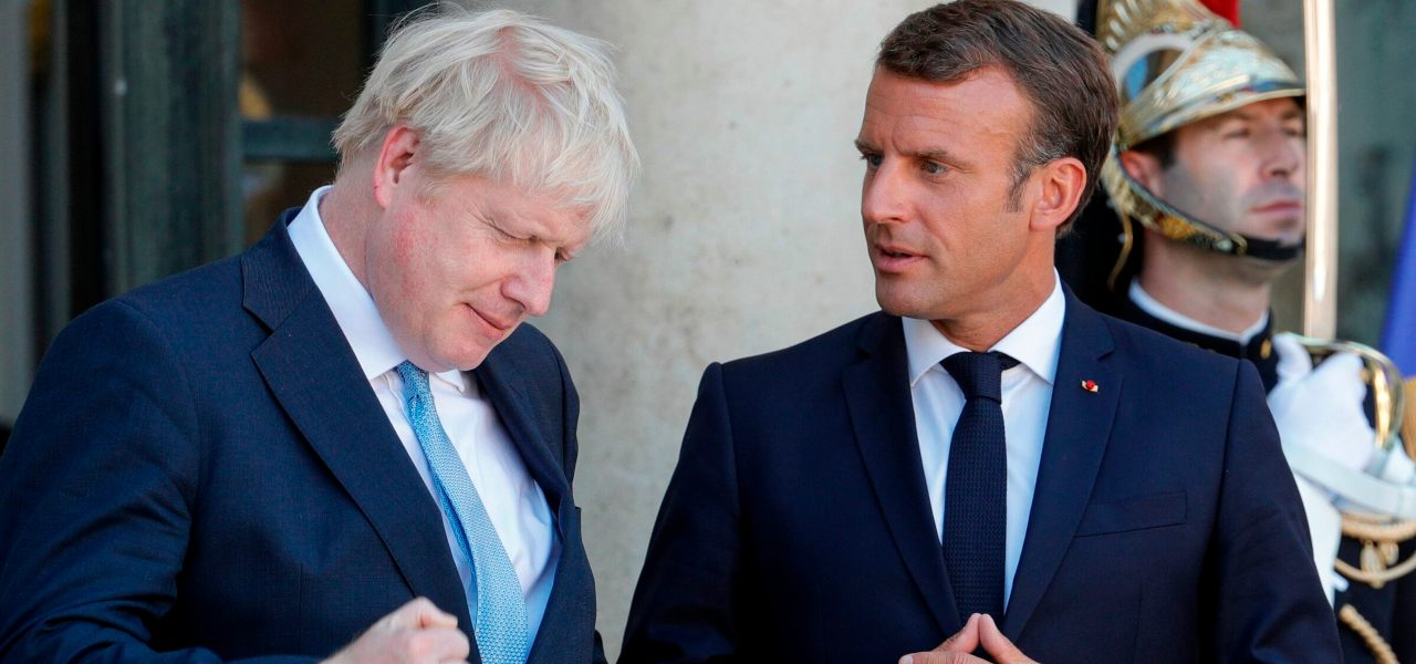 Johnson e Macron