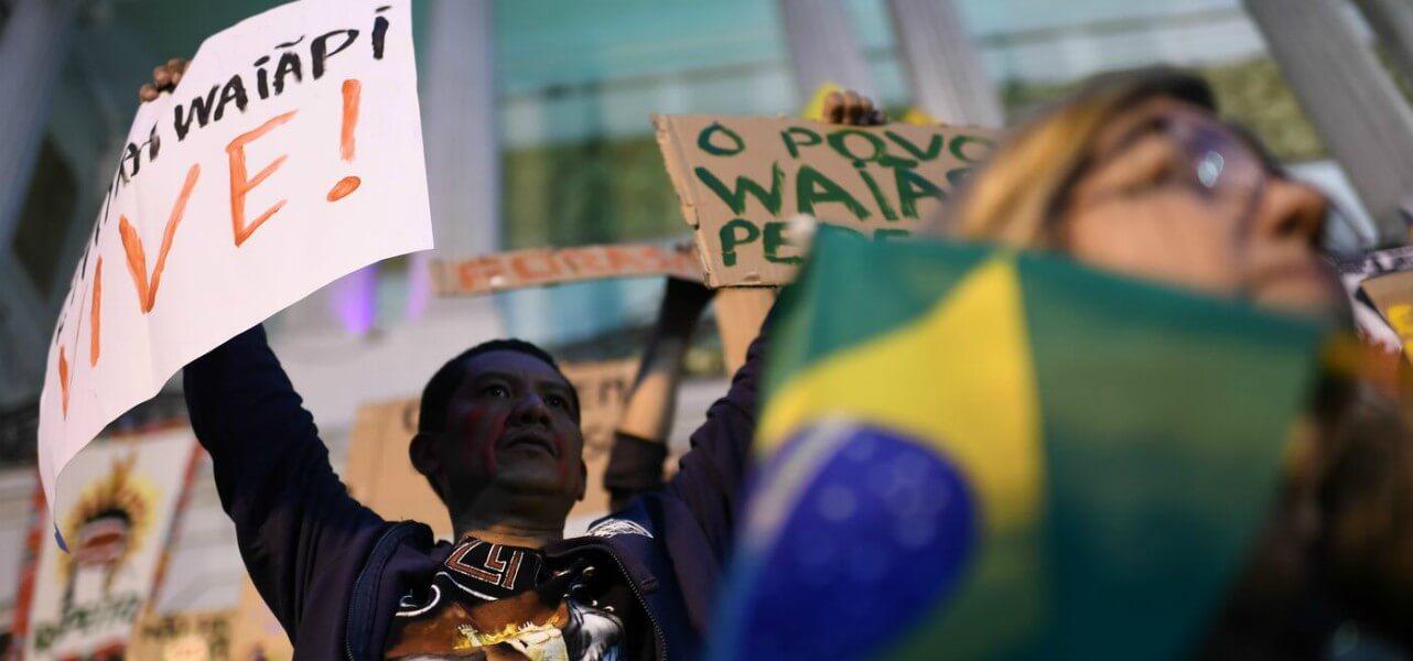 brasile protesta amazzonia 1 lapresse1280