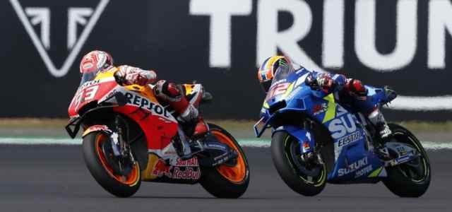 Rins e Marquez MotoGp