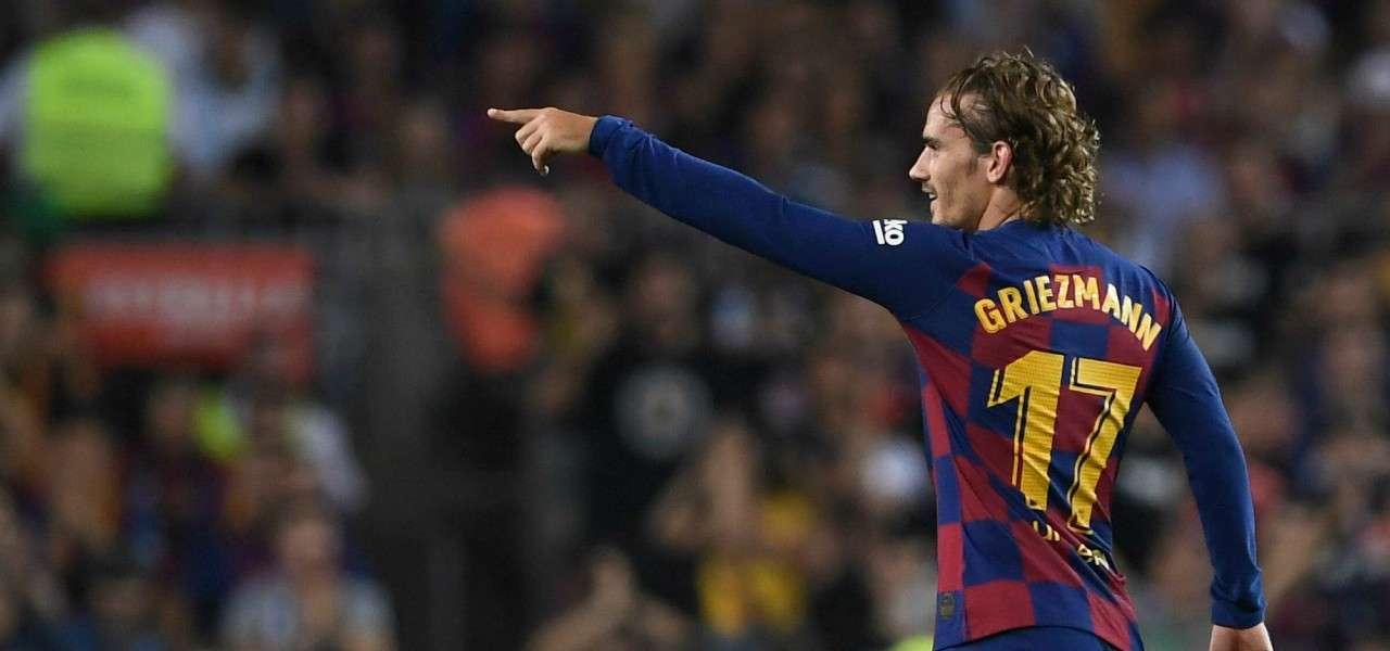 Antoine Griezmann Barcellona indicazione lapresse 2019