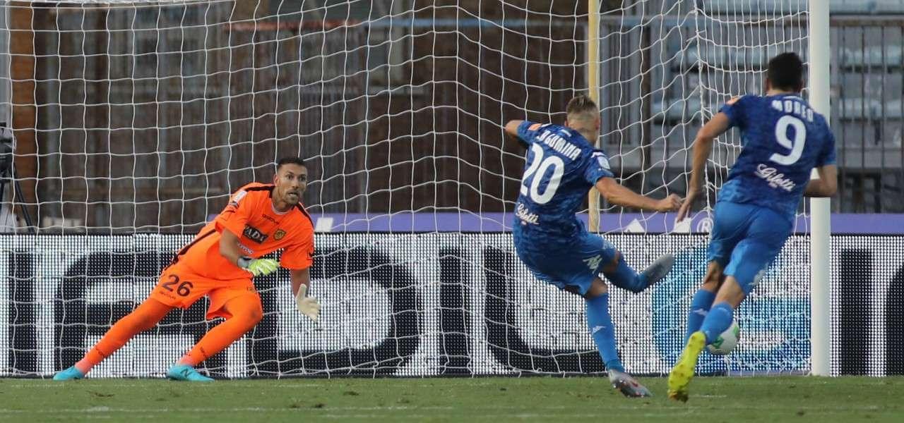 La Gumina Empoli Juve Stabia rigore lapresse 2019
