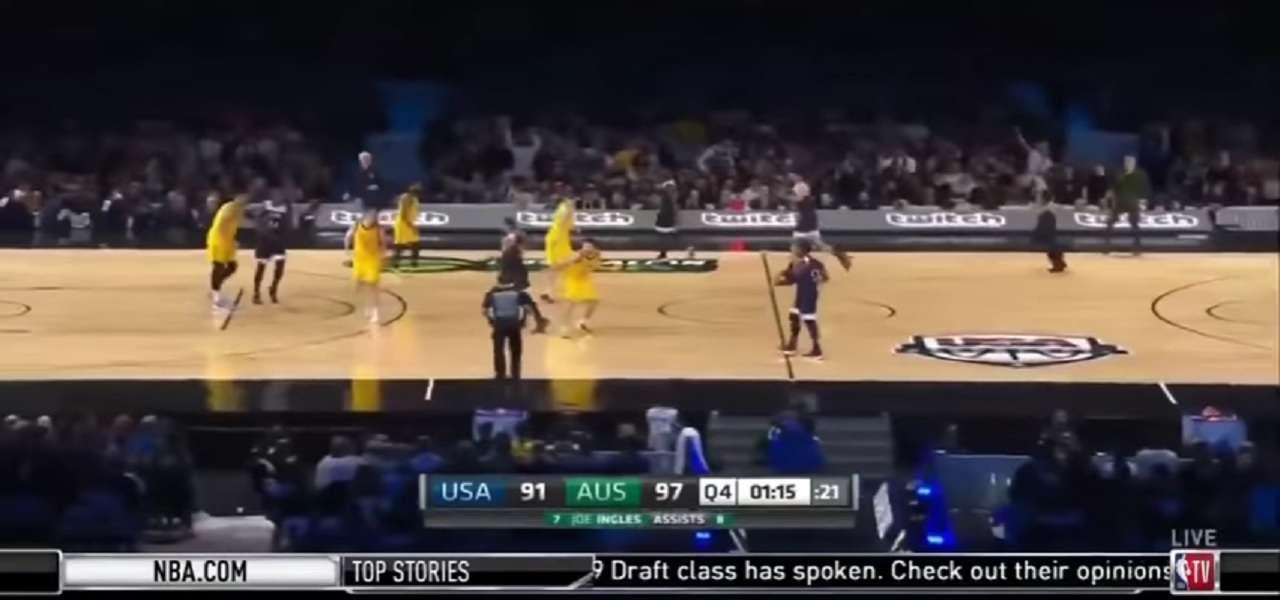 team usa basket australia usa