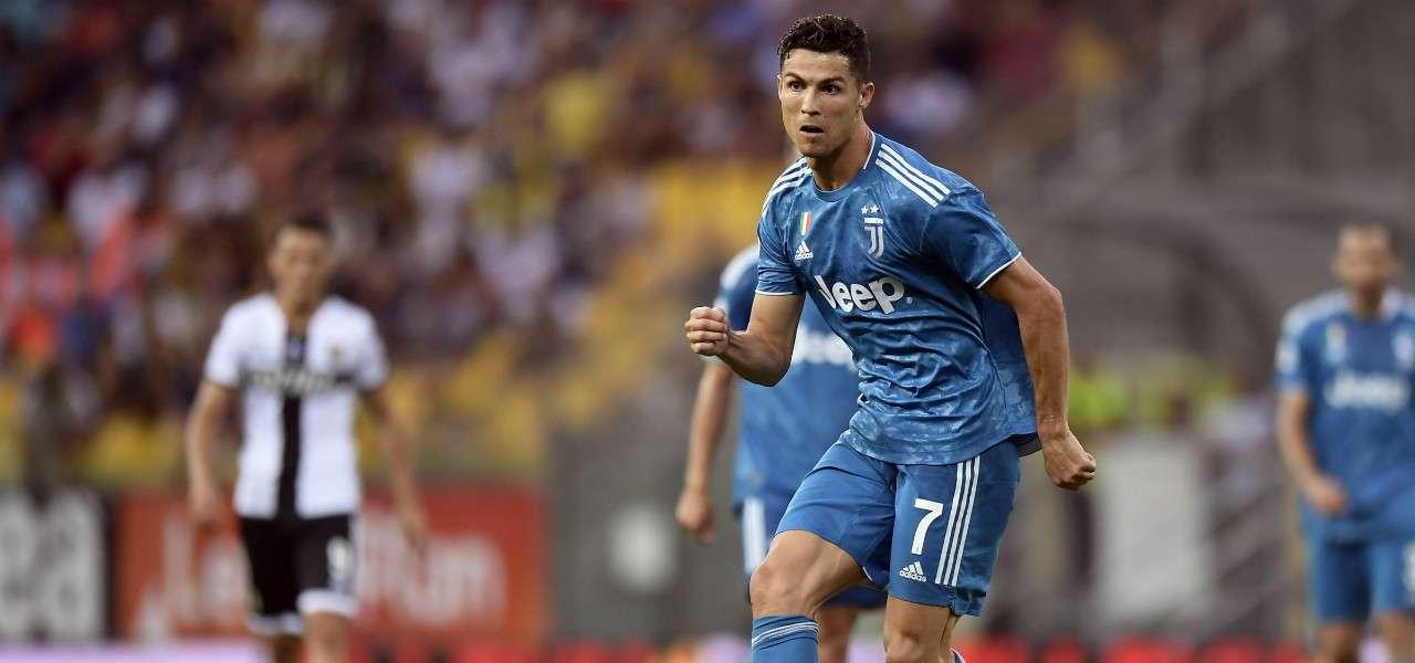 Cristiano Ronaldo Juventus Parma lapresse 2019