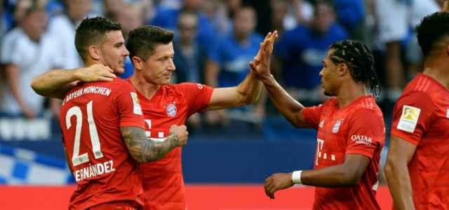 Bayern gruppo Champions