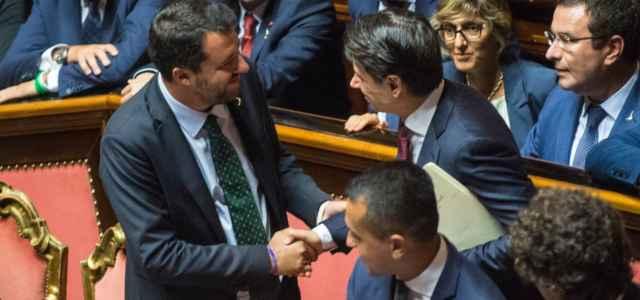 Salvini, Conte, Di Maio