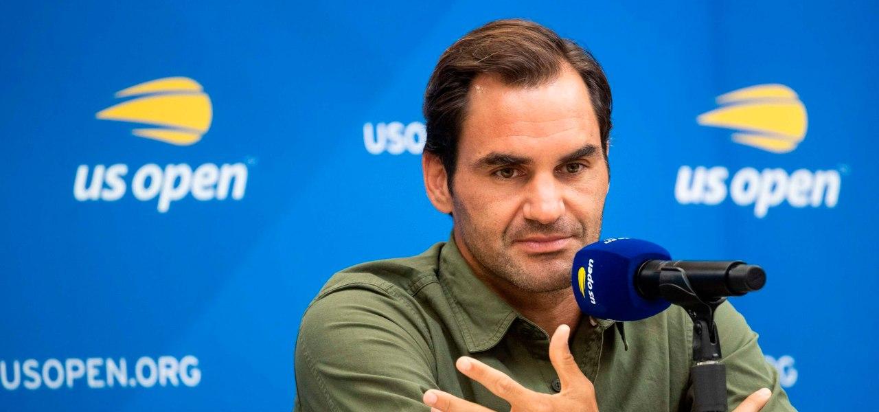 Federer agli Us OPen