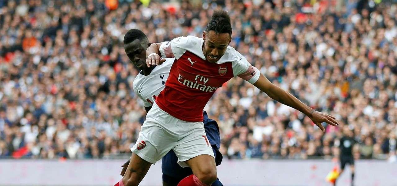 Aubameyang Sanchez Arsenal Tottenham lapresse 2019
