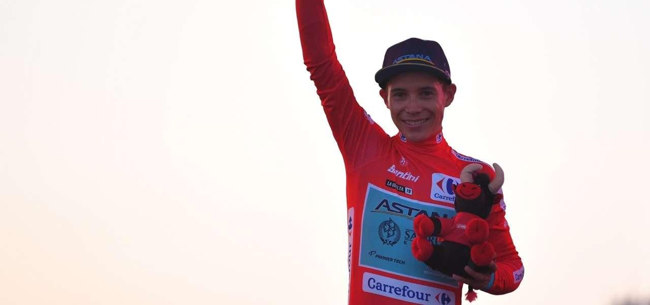 Lopez Vuelta maglia rossa