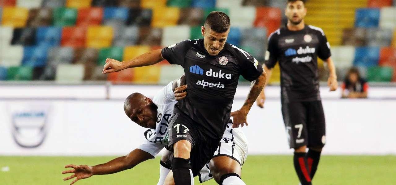 Casiraghi Sudtirol Udinese lapresse 2019