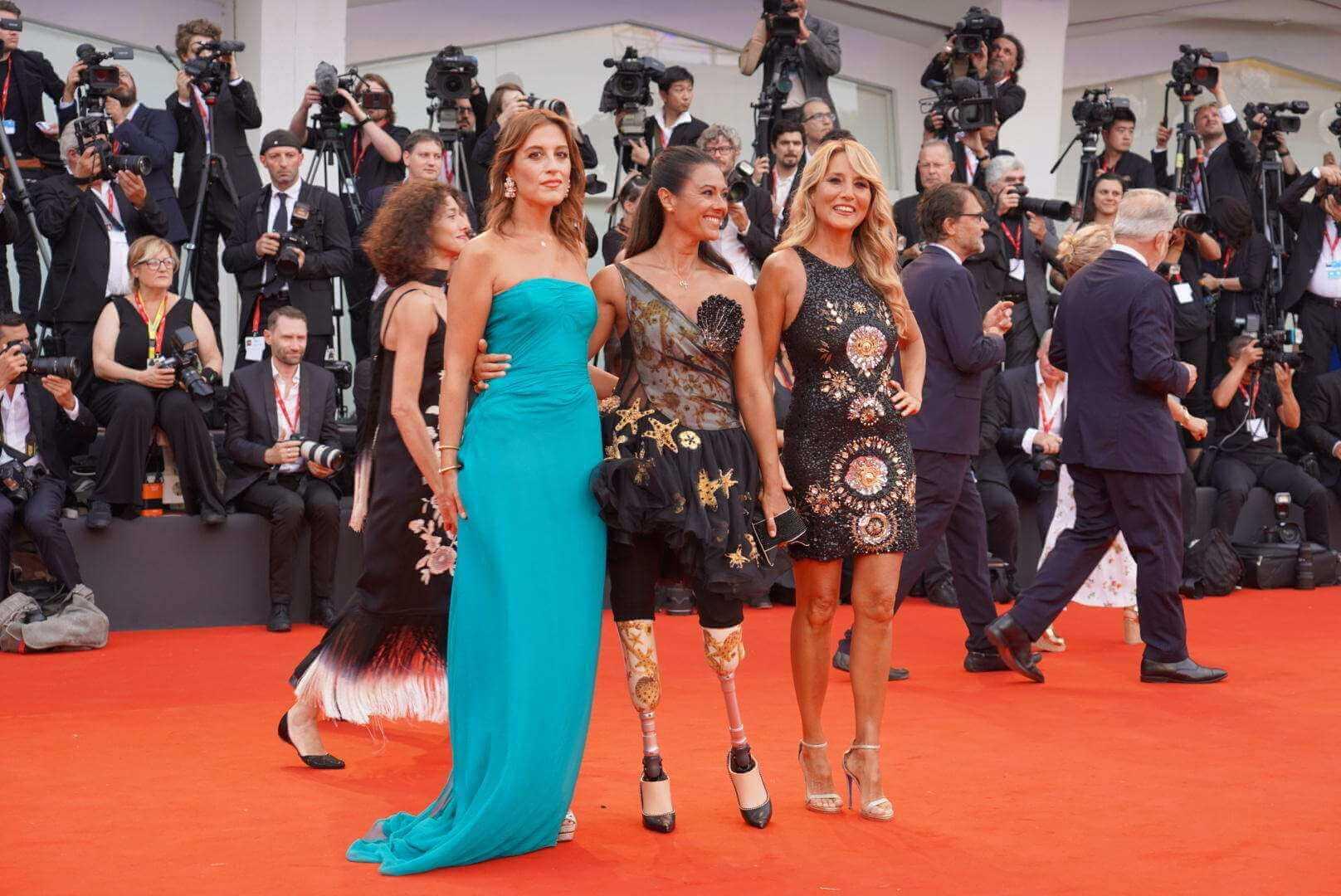 Giusy Versace, red carpet