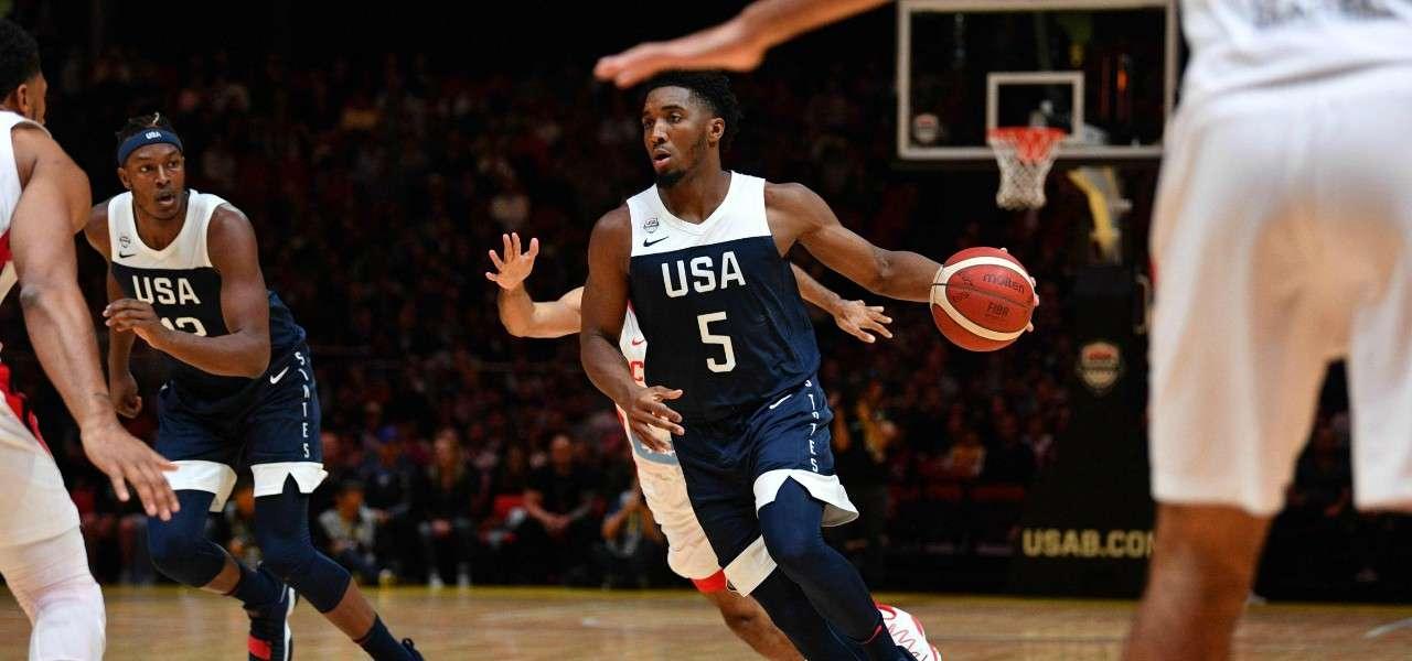 Donovan Mitchell Usa basket lapresse 2019