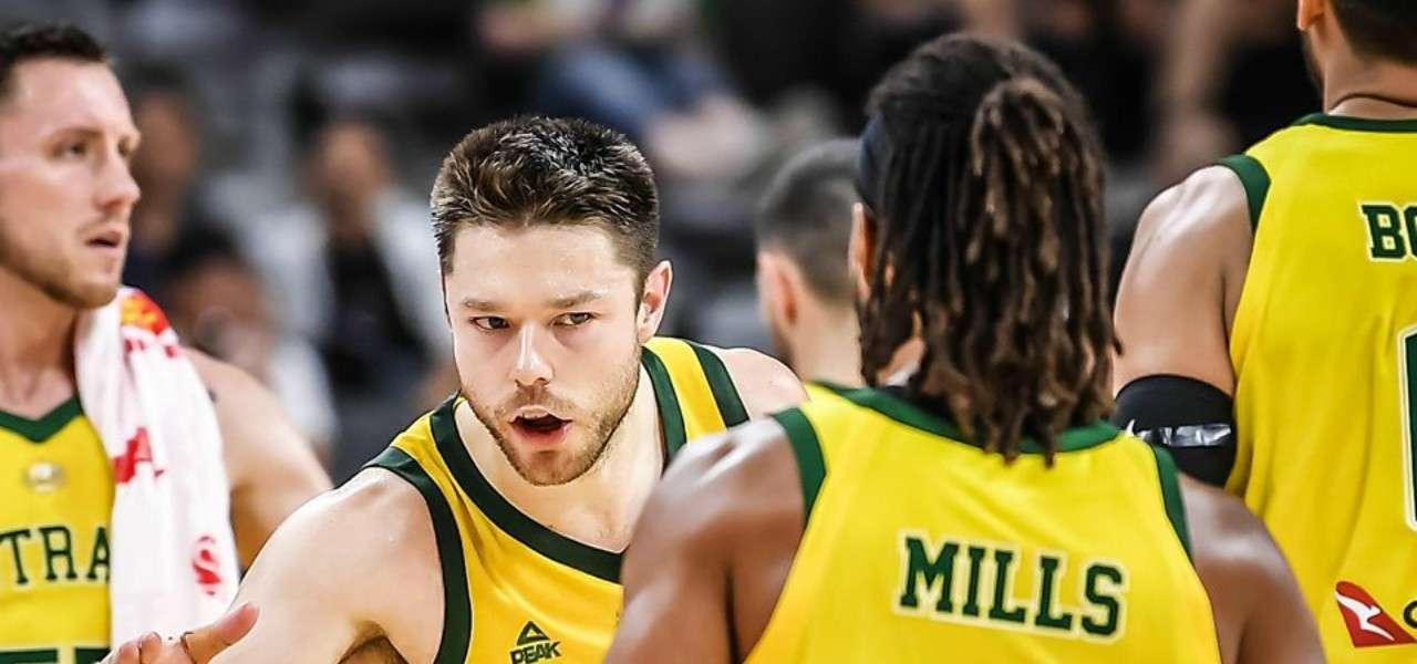 Dellavedova Mills Australia basket facebook 2019
