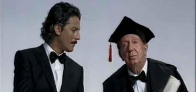 Fiorello e Mike Bongiorno