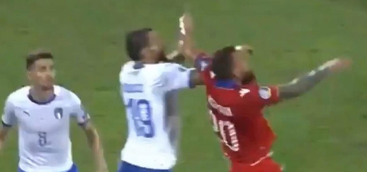 Karapetyan contro Bonucci: l'episodio incriminato