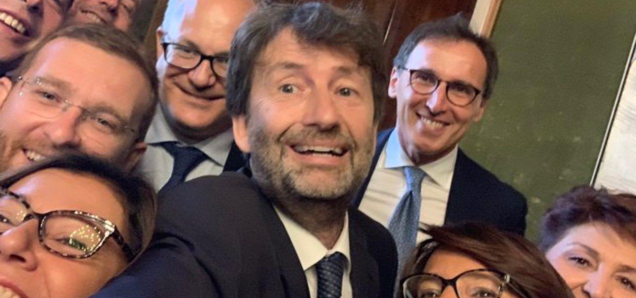 Selfie Ministri del Pd