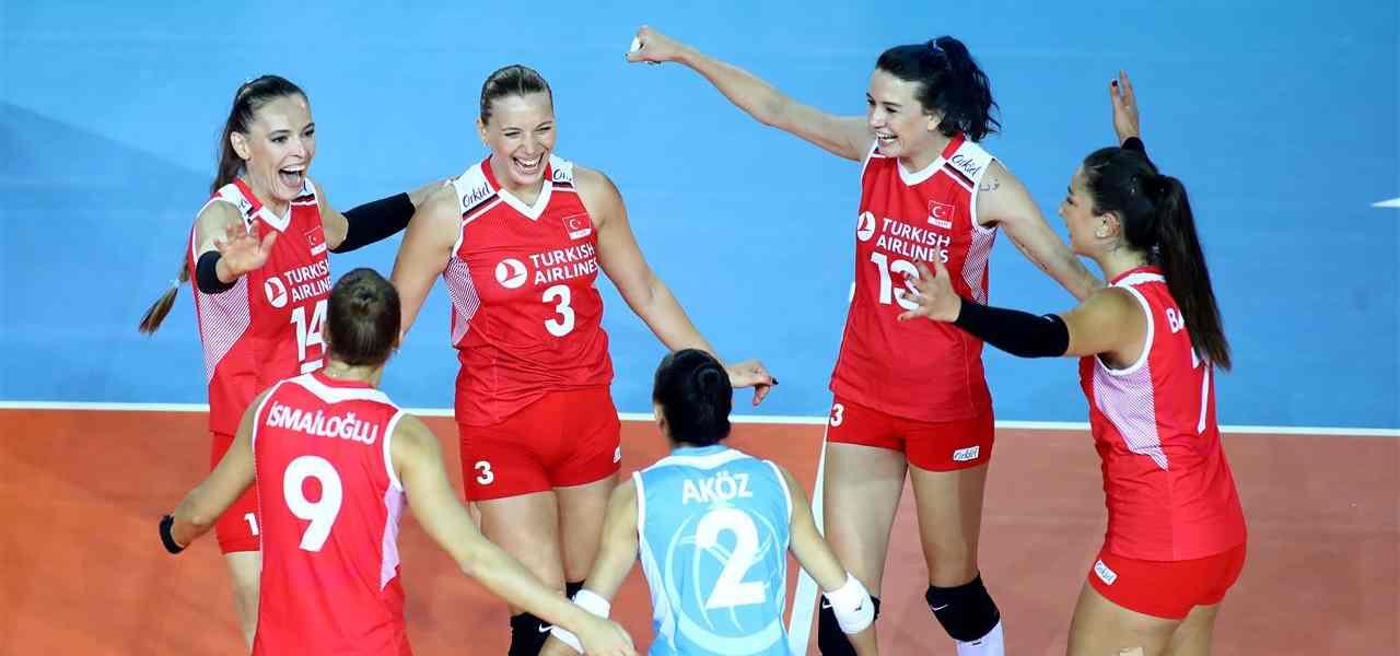 volley turchia femminile cev 2019