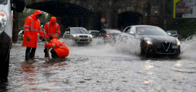 Esondazione Milano