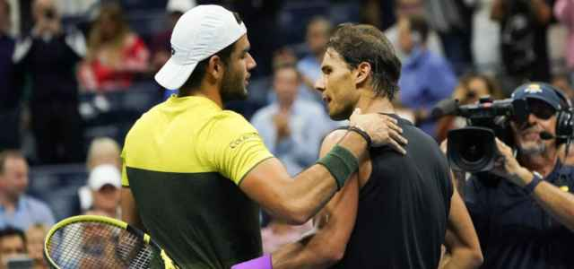 Nadal e Berrettini Us Open