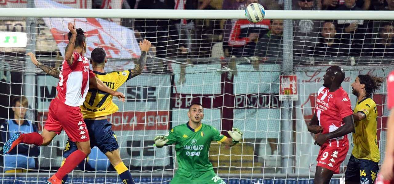 Castiglia gol Modena Padova lapresse 2019