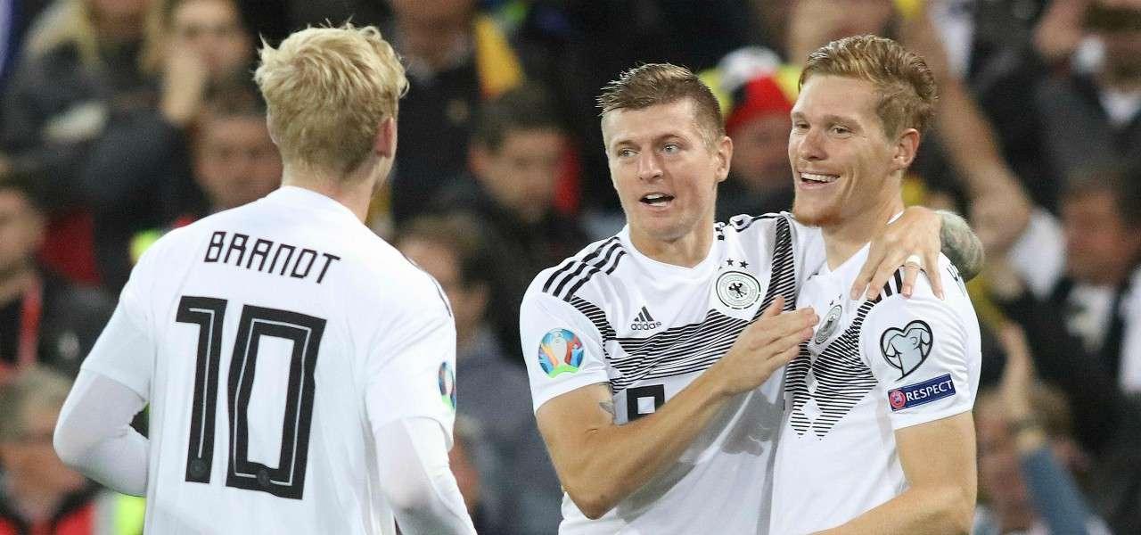 Halstenberg Brandt Kroos Germania gol lapresse 2019