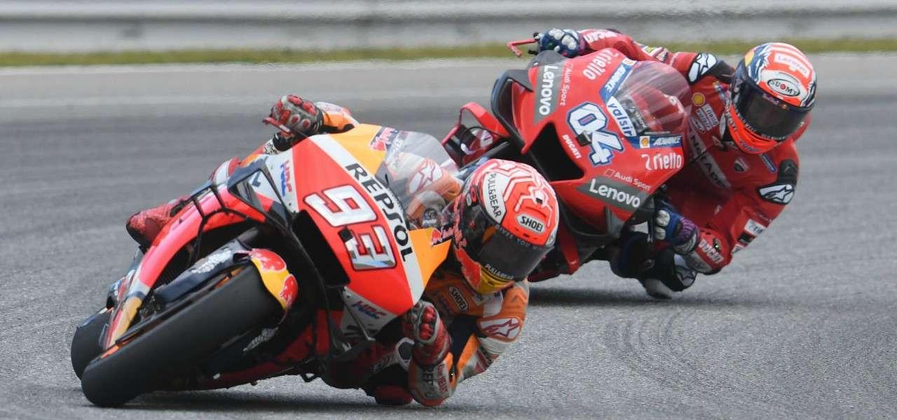 MotoGp Dovizioso Marquez
