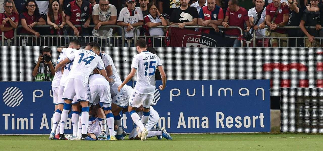 Brescia gruppo gol lapresse 2019