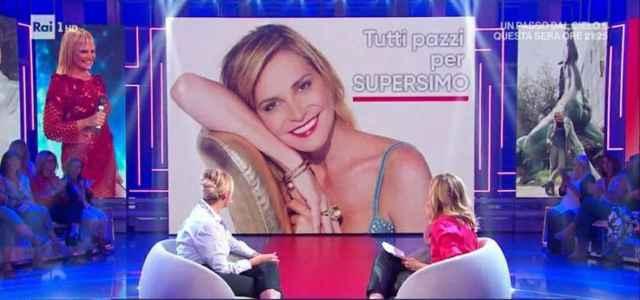 Simona Ventura a La Vita in Diretta