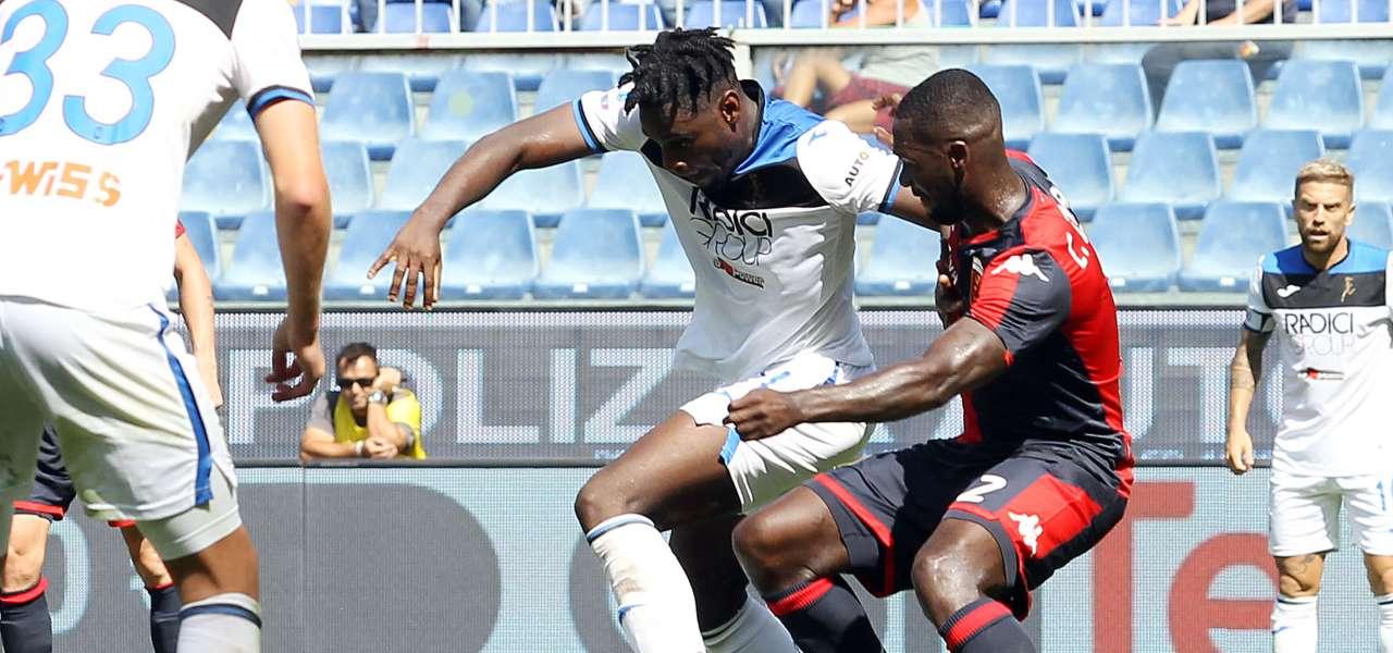 Zapata contro il Genoa