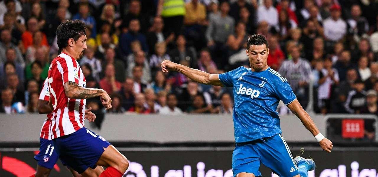 Cristiano Ronaldo Savic Juventus Atletico lapresse 2019