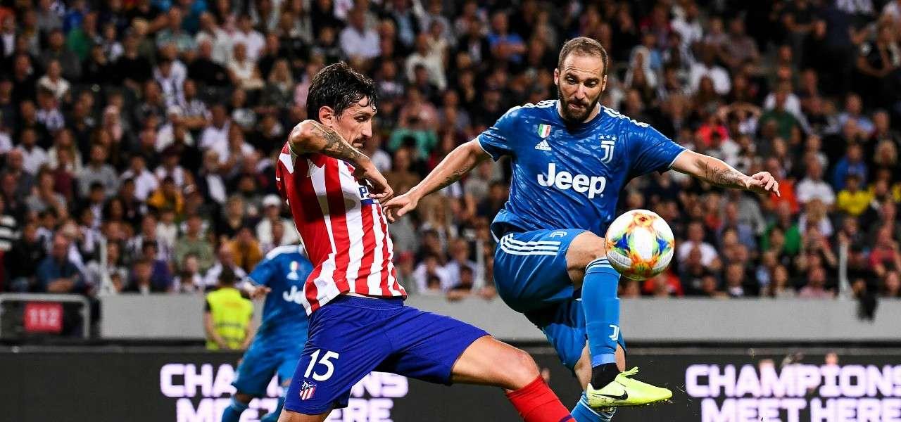 Higuain Savic Juventus Atletico Madrid lapresse 2019
