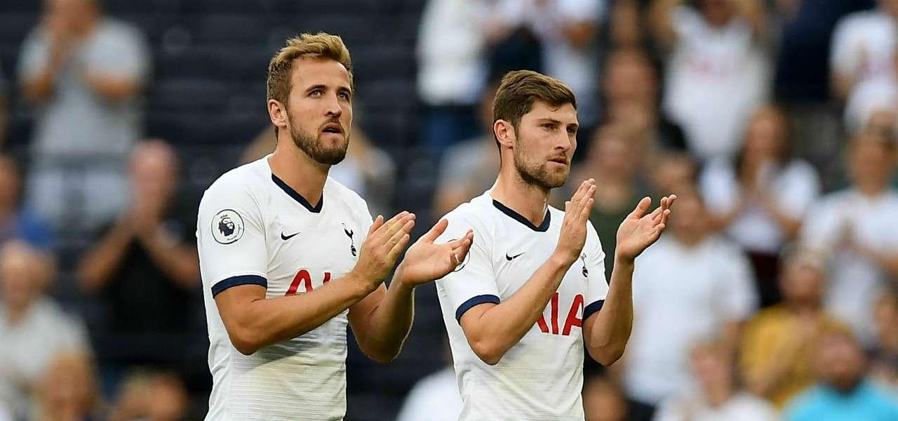 Kane Vertonghen Tottenham applauso lapresse 2019