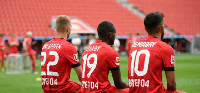 Sinkgraven Diaby Demirbay Bayer Leverkusen acquisti lapresse 2019 640x300