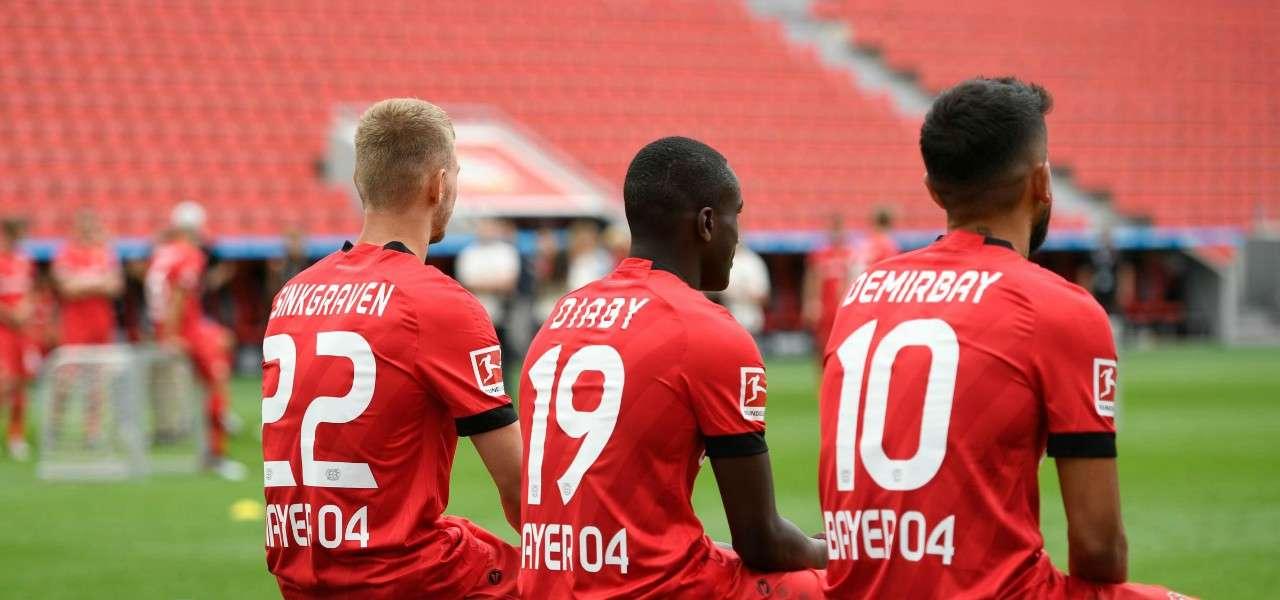 Sinkgraven Diaby Demirbay Bayer Leverkusen acquisti lapresse 2019