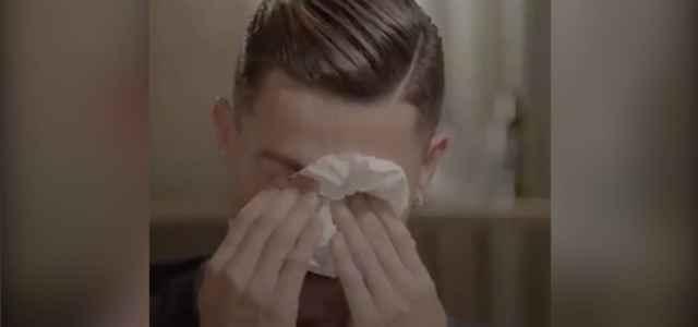 cristiano ronaldo piange 640x300