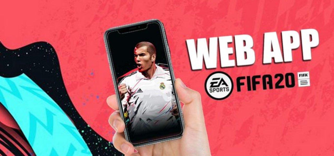 FIFA 20, web app
