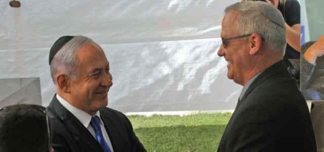 Netanyahu e Gantz
