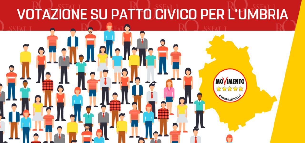 Patto civico M5s-Umbria