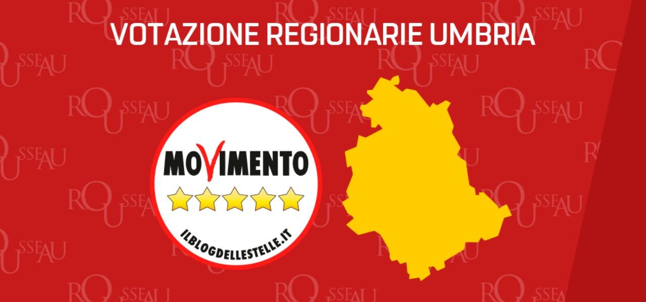 Regionarie M5s Umbria