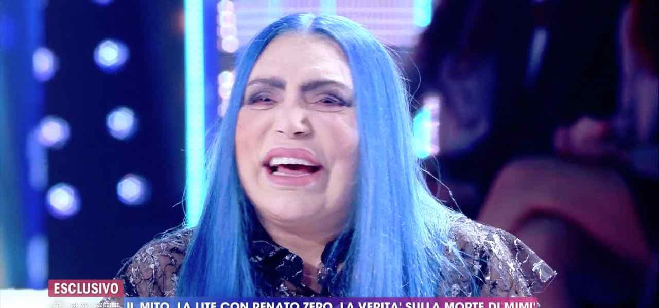 Loredana Bertè a Live Non è la D'Urso