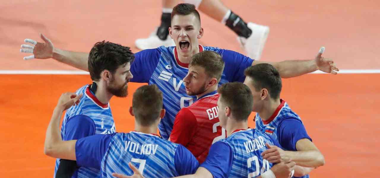 russia volley pallavolo lapresse 2019