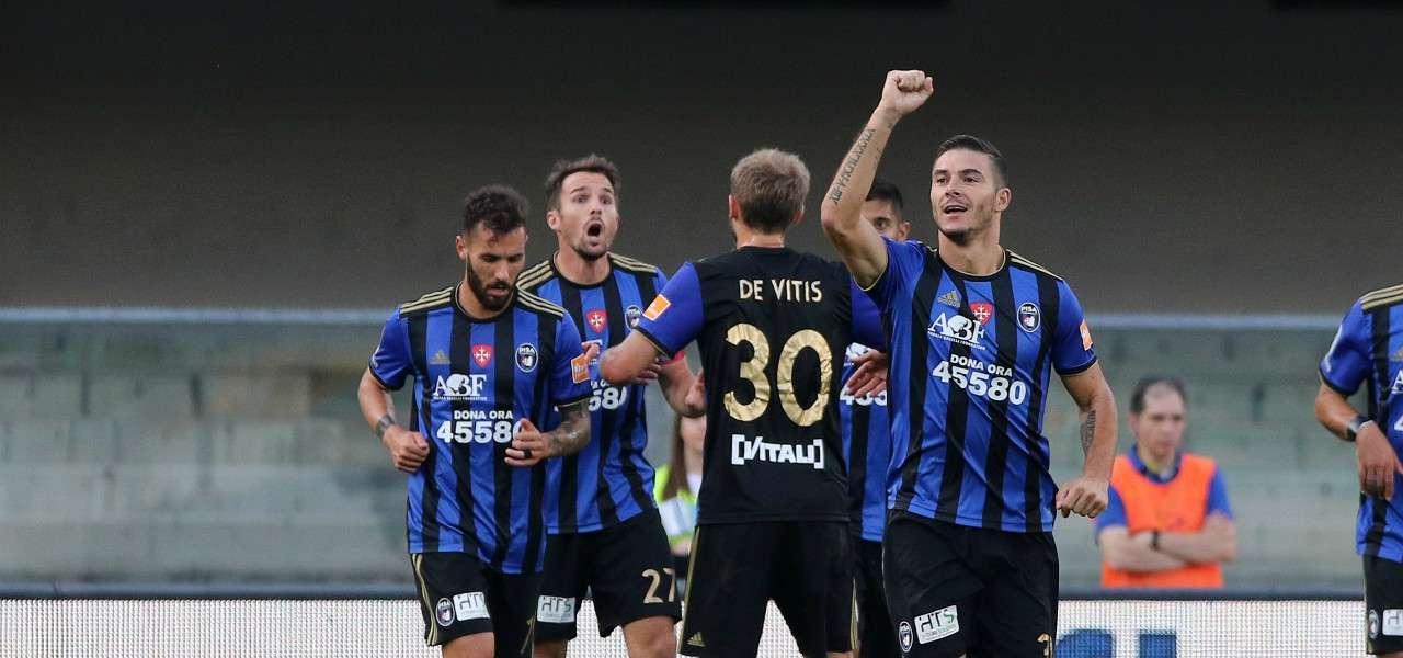 Marconi Pisa gol gruppo lapresse 2019
