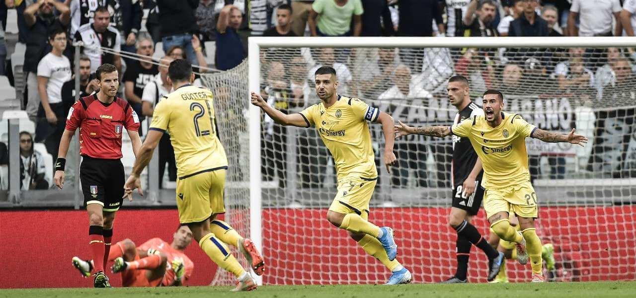 Miguel Veloso Verona Juventus gol lapresse 2019