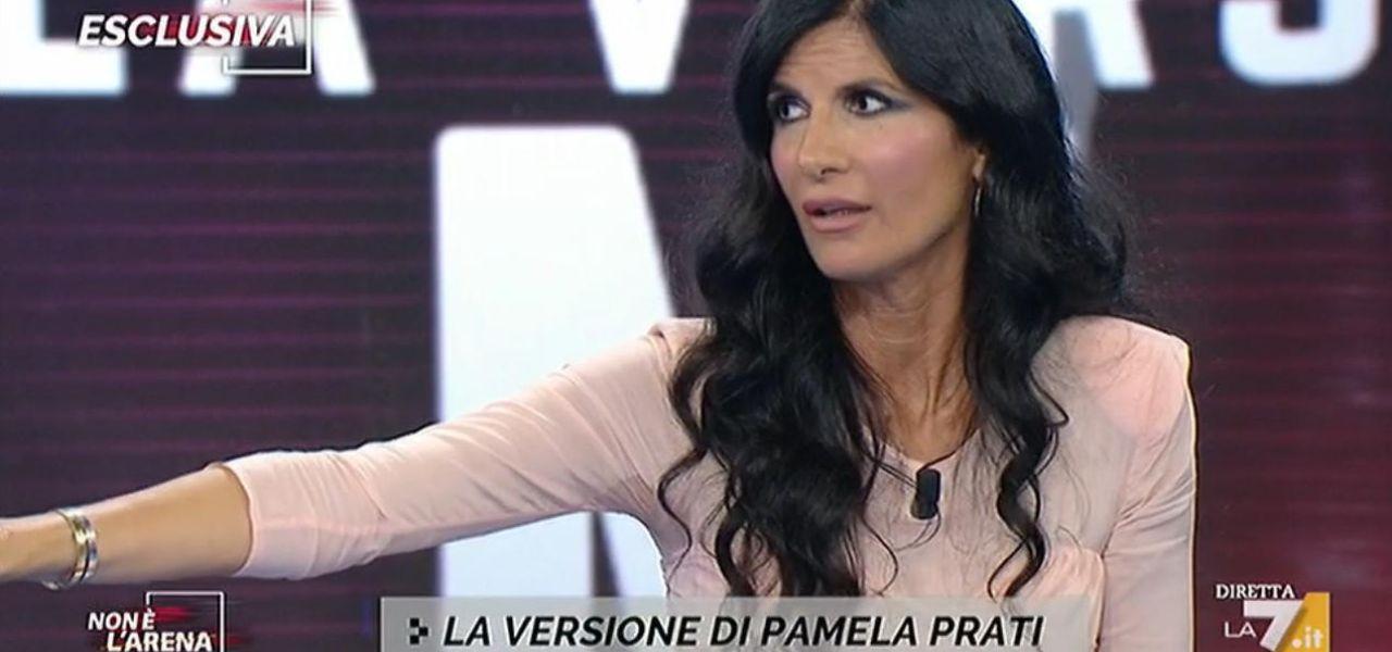 Pamela Prati a Non è l'Arena
