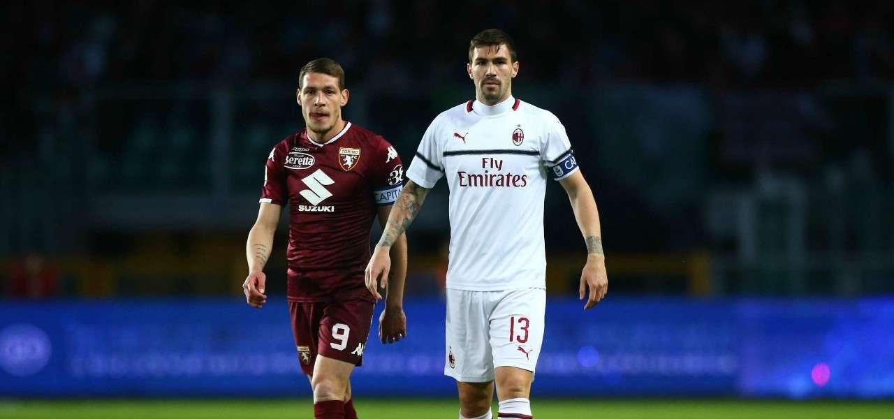Belotti Romagnoli Torino Milan lapresse 2019