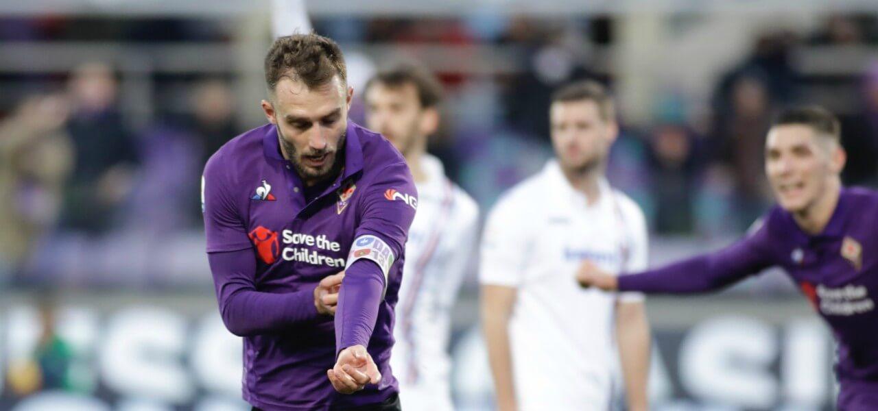 German Pezzella Fiorentina Sampdoria gol lapresse 2019