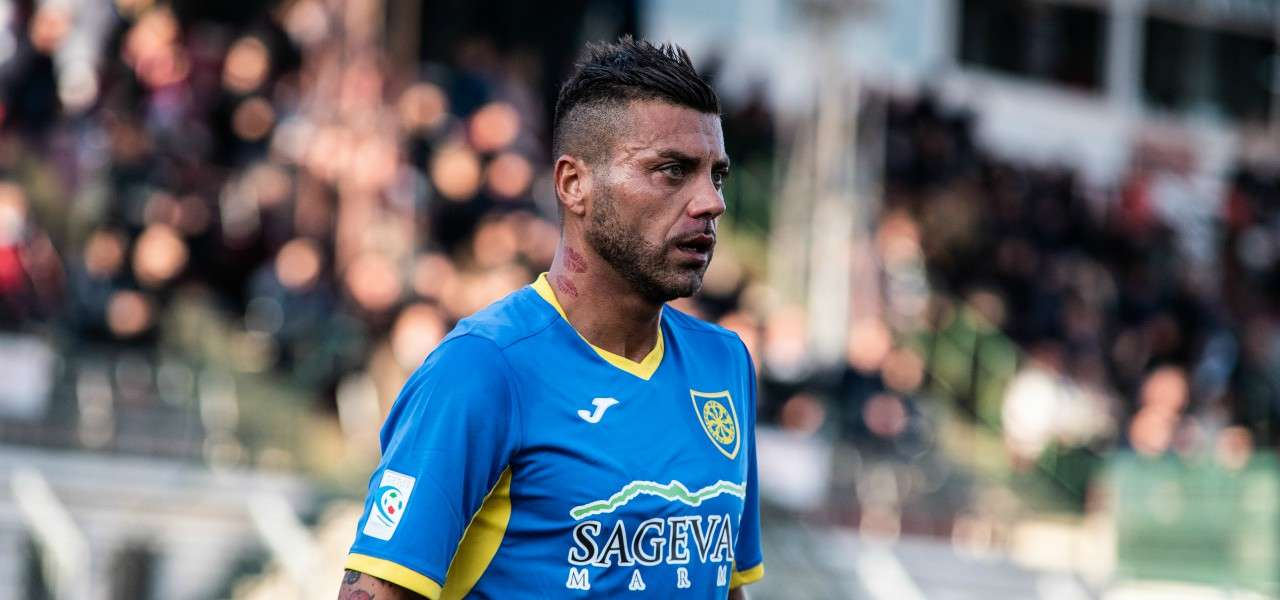 Francesco Tavano Carrarese lapresse 2019