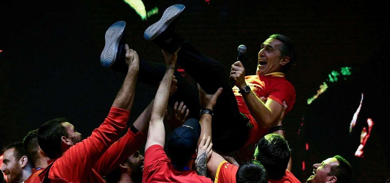 Sergio Scariolo trionfo Spagna basket lapresse 2019