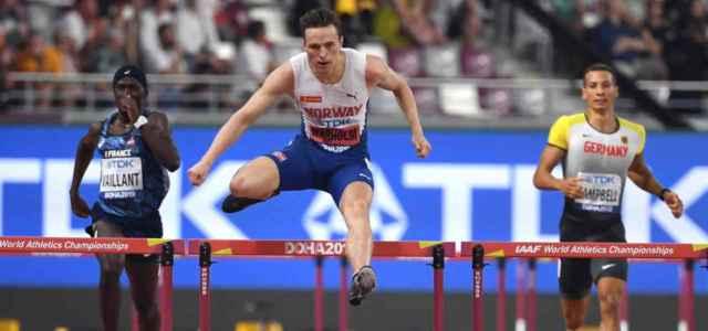 warholm ostacoli mondiali atletica lapresse 2019 640x300